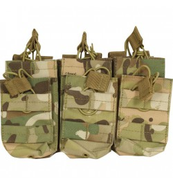 Triple poche Olive 6 chargeurs M4/M16 - VIPER TACTICAL