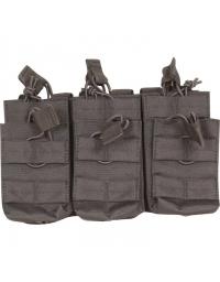 Triple poche Noir 6 chargeurs M4/M16 - VIPER TACTICAL