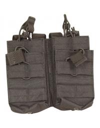 Double poche Noir 4 chargeurs M4/M16 - VIPER TACTICAL