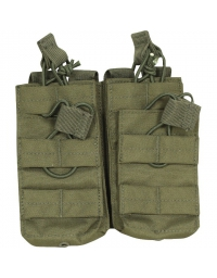 Double poche Olive 4 chargeurs M4/M16 - VIPER TACTICAL