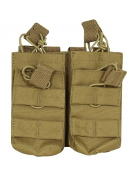 Double poche Tan 4 chargeurs M4/M16 - VIPER TACTICAL