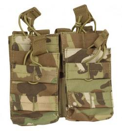 Double poche Multicam 4 chargeurs M4/M16 - VIPER TACTICAL