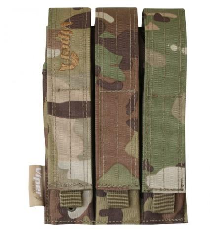 Triple poche chargeur MP5 Noir - VIPER TACTICAL