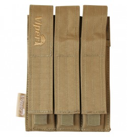 Triple poche chargeur MP5 Multicam - VIPER TACTICAL