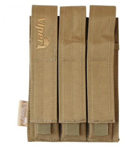 Triple poche chargeur MP5 Multicam - VIPER TACTICAL