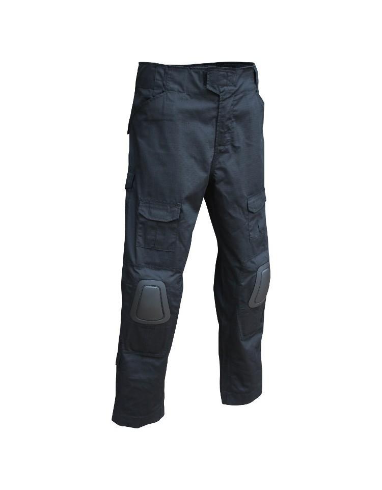 Pantalon Noir avec genouillère integrée - VIPER TACTICAL