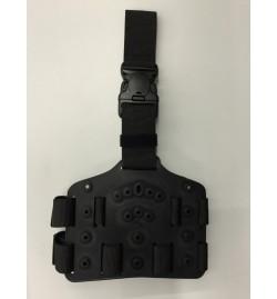 Plaque de cuisse king cobra résine balistique compatible étui administratif - KING COBRA