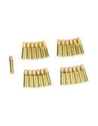 25 DOUILLES METAL REDUCTRICE PUISSANCE 6mm Dan Wesson - ASG