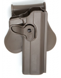 HOLSTER 1911 DROITIER tan - ASG