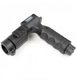 Poignée verticale Porte lampe 25.4mm avec interrupteur - SWISS ARMS