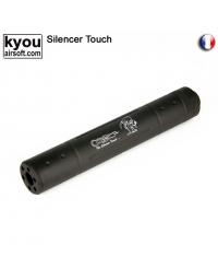 Silencieux FUCK OFF 35X195mm 14mm (-) - KYOU