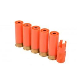 5 cartouches gaz de Fusil à Pompe  M870