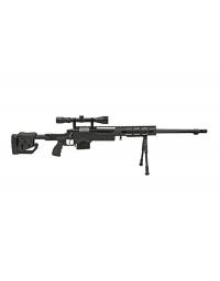 Sniper MB4411D Noir avec lunette de visée et bipied - WELL