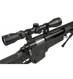 Sniper MB4411D OLIVE avec lunette de visée et bipied - WELL