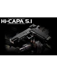 HI-CAPA 5.1 gaz blowback - TOKYO MARUI