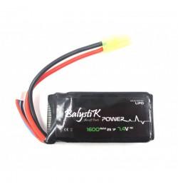 Batterie Lipo 1100mAh 11.1V 20C - BALYSTIK