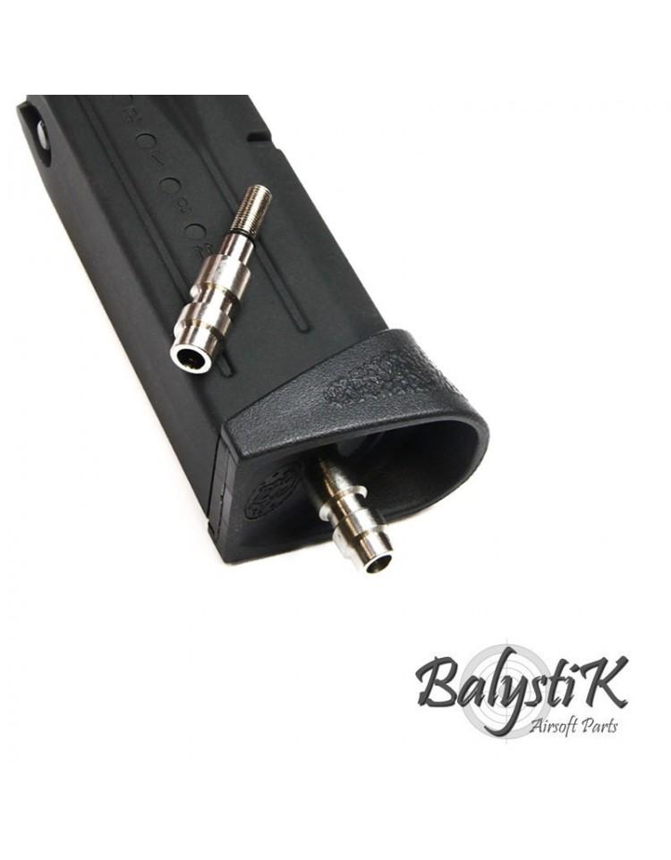 Valve HPA sans perçage pour chargeur GBB KJ /WE (Version EU) - BALYSTIK