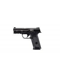 PISTOLET ICS GBB BLACK LÉOPARD EYES ALPHA NOIR - ICS