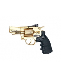 "AIRGUN DAN WESSON - C02-2.5"" Gold FULL METAL - 4.5MM - ASG"