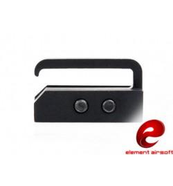 Passant sangle pour rail picatinny 20mm - ELEMENT