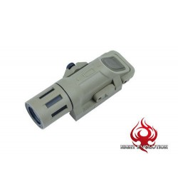 Lampe Weapon Mounted 240 lumens Tan - NIGHT EVOLUTION