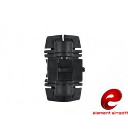 Fixation lampe rail 22mm