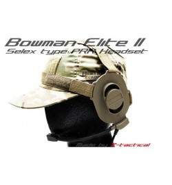 Casque micro Bowman IV M-Tactical Tan - Z-TAC