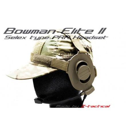 Casque micro Bowman IV M-Tactical Tan - Z-TAC
