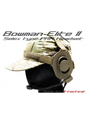 Casque micro Z tactical Bowman Elite II Tan - Z-TAC