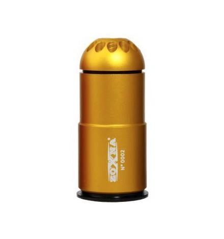 Grenade bleu 40mm 120 billes Gaz - ZOXNA