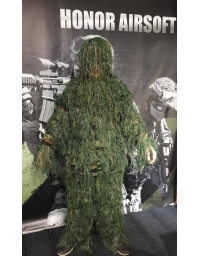 Tenue Ghillie Camouflage Woodland - BIG FOOT