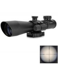 Lunette de visée lumineuse 3-9x42EG + laser