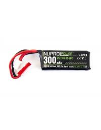 Batterie Lipo 300mAh 7,4V 35-70C - NUPROL