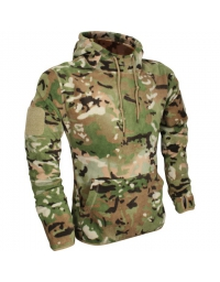 Sweat polaire avec capuche Multicam - VIPER TACTICAL