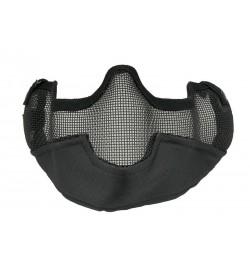 Masque grillagé V3 noir - GFC