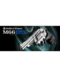 Smith & Wesson M66 4 inch Revolver - TOKYO MARUI