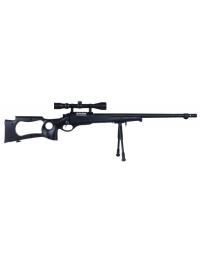 Sniper MB10D Noir avec lunette de visée 3-9x40 et bipied - WELL