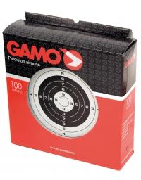 Boîte de 100 cibles carton 14x14 -GAMO