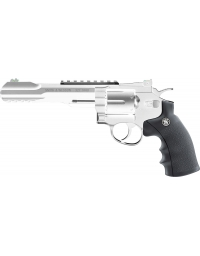 Revolver chromé mod 327 TRR8 4,5mm CO2 2,5 joule - S&W