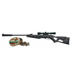 Carabines whisper x tactical avec lunette 3-9 x 40 4,5mm - GAMO