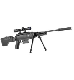 Sniper carabine à air comprimé 4,5mm - BLACK OPS