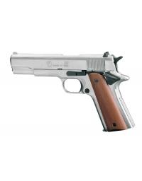 Pistolet 911 chromé balle à blanc - CHIAPPA