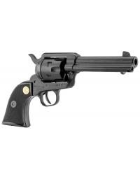 Revolver noir single action 4 Pouces 3/4 Cal. 380 balle à blanc - CHIAPPA