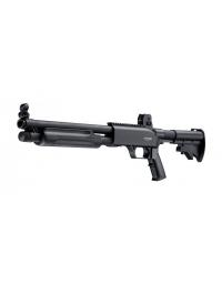 Fusil à pompe gomm cogne CO2  T4E SG68 - Walther