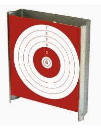 porte cibles plat pour cibles cartons 10x10 cm