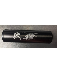 Silencieux noir KA 110mm
