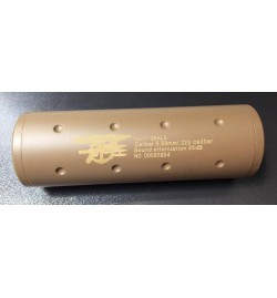 Silencieux Tan Navy Seals 110mm