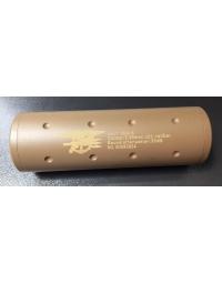 Silencieux Tan Navy Seals 110mm