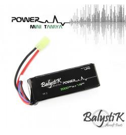 Batterie Lipo 2000mAh 7.4V 20C - BALYSTIK