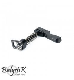Maintient de chargeur gris CNC ambidextre pour M4/M16 - BALYSTIK